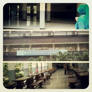 SMP tempat saya dan Wawa bertemu