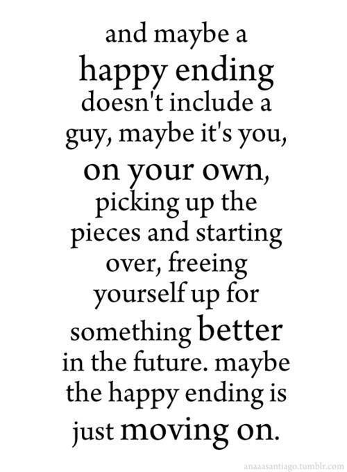 just moving on