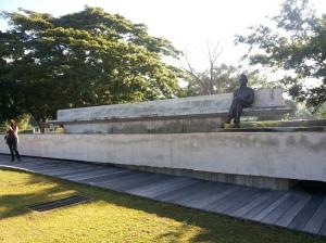patung Bung Karno di Taman Renungan Bung Karno