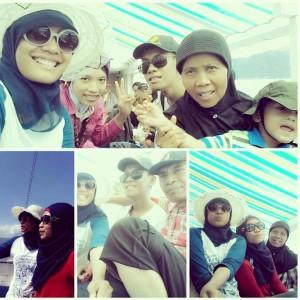 perahu Al Amin dari Pulo ende menuju Ende