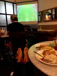 nih suasana perebutan tempat ketiga Piala Dunia 2014, sepi kan yah?