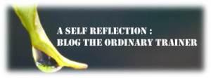 a self reflection