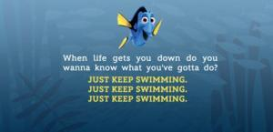 keep swiming
